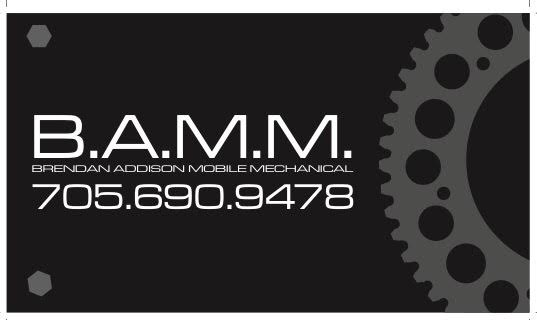 B.A.M.M. (Brendan Addison Mobile Mechanic)